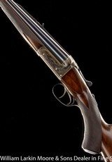 WESTLEY RICHARDS Deluxe Boxlock Ejector Nitro Express .240 HV Flanged NE Game Scene engraved Mfg 1934 AS NEW - 8 of 8