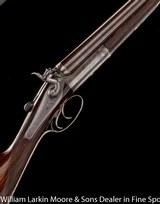 "J. HARKOM & SON (Edinburgh) Back Action Top Lever Hammer, 12ga 30"" SKT&IM, 2 1/2"" London proof, Circa 1880 - 1 of 8"