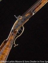 "J. WILT & CO Kentucky Squirrel rifle .36 cal 38"" Octagon barrel by Burns, Mfg 1875"