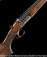 """F.LLI POLI Ivory Deluxe Sporting 12ga 30"""" Chokes, Upgraded wood, A SxS competition Sporting Clays gun, Mfg 2010 - 1 of 9"""