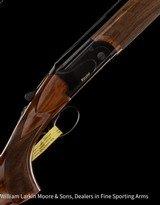 "RIZZINI B BR110 Field 20ga 28"" chokes, Upgraded wood, ABS case, NEW"