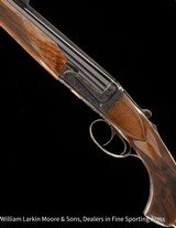 """CHAPUIS ARMES Brousse Extra .450/.400 3"""" NE, 26"""", Casehardened, Buffalo in gold on bottom, NEW - 9 of 9"""