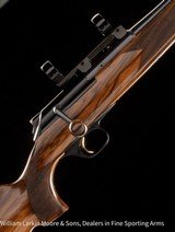 """CHAPUIS ARMESROLS Elegance, .300 win mag, 24"""" QD mounts with 30mm rings, Upgraded Turkish walnut, ABS case, NEW"""