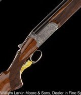 """RIZZINI B Venus Round Body Field 20ga 28"""" Chokes, Fancy wood and engraving, A special model for women, abs CASE, NEW"""