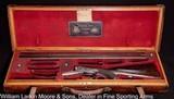 "ALEXANDER HENRY Underlever Sidelock Hammerless Black powder Express, 14 bore, 28"", Original O&L case, Exceptional condition,Mfg 1885 - 3 of 10"