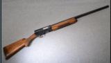 Browning A-5 Magnum 12 GA