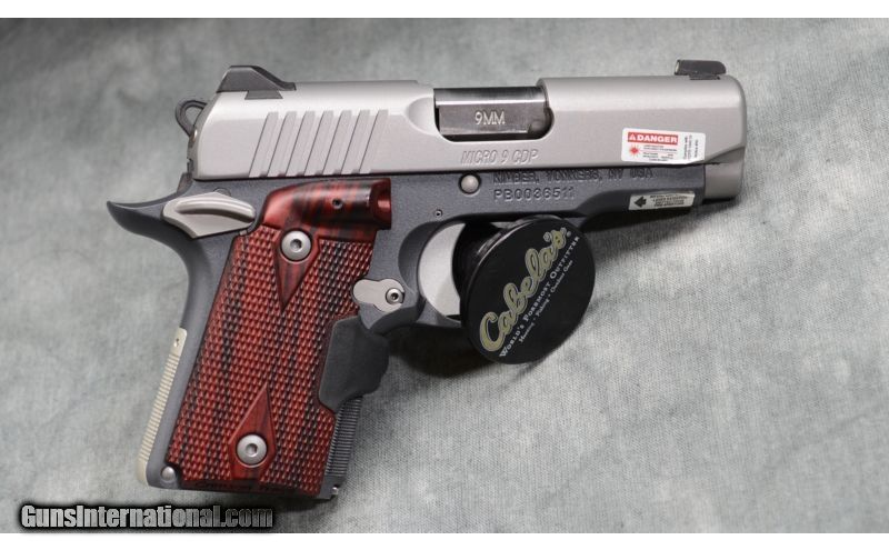 Kimber ~ Micro Carry with Laser Grip ~ 9mm for sale