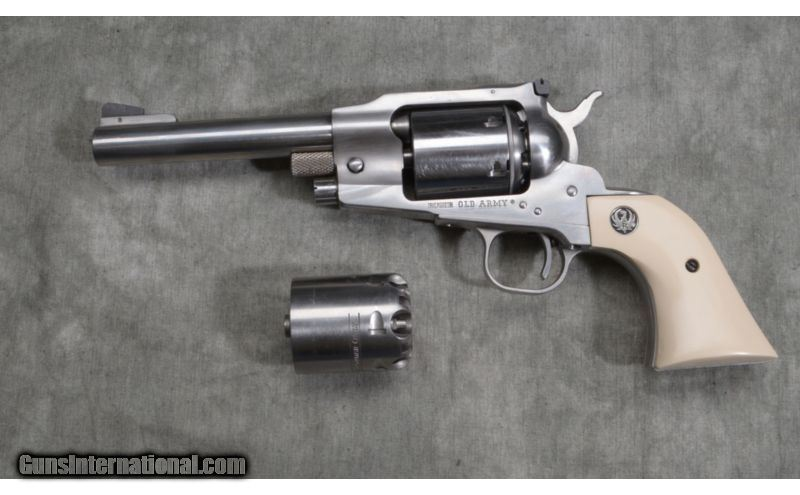 Ruger ~ Old Army ~ Two Cylnders ~  45 Colt and  45 Cap and
