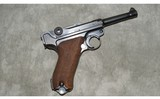Walther ~ Luger ~ S/42 1937 ~ 9MM Parabellum