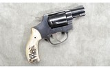 Smith & Wesson ~ 36 ~ Bone Grips ~ .38 Special