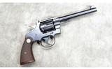 Colt ~ Officer's Model ~ .22 Long Rifle