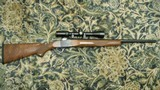 """Ruger No. 1 22-250, 24"""" heavy barrel with Simons 4-12x scope in Ruger rings on Ruger bases - 1 of 15"""