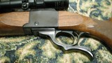 """Ruger No. 1 22-250, 24"""" heavy barrel with Simons 4-12x scope in Ruger rings on Ruger bases - 8 of 15"""
