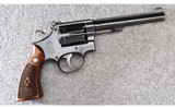 Smith & Wesson ~ Model K-22 Masterpiece 3rd Model ~ .22 LR - 1 of 5
