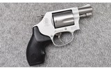 smith & wessonmodel 637 2 airweight.38 special +p