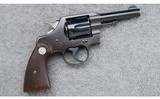 Colt - Official Police ~ .38 Special