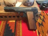 German WWII FN Browning model 1922 pistol in 7.65mm