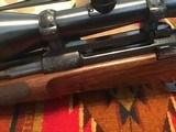 Engraved Mauser Bolt Magazine Sporting Rifle by John Dickson - 5 of 15