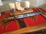 CS Civil War Star in Pommel Short Sword