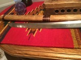 Antique Wakizashi Japanese Sword from WW2 and before - 2 of 13