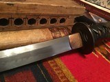Antique Wakizashi Japanese Sword from WW2 and before - 4 of 13