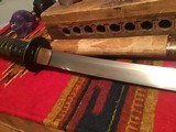 Antique Wakizashi Japanese Sword from WW2 and before - 12 of 13