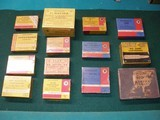 VARIOUS BRITISH CARTRIDGE COMPNY BOXES