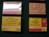 VARIOUS BRITISH CARTRIDGE COMPNY BOXES - 4 of 9