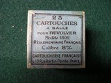 FRENCH REVOLVER COLLECTIBLE AMMO - 4 of 7