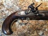 Early American .50 cal. Flint Pistol