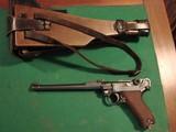 Luger Artillery rig.Original stock, holster, straps.Matching #'s Luger