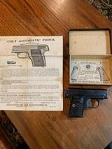 Colt 1908.25 caliber, with original box and manual