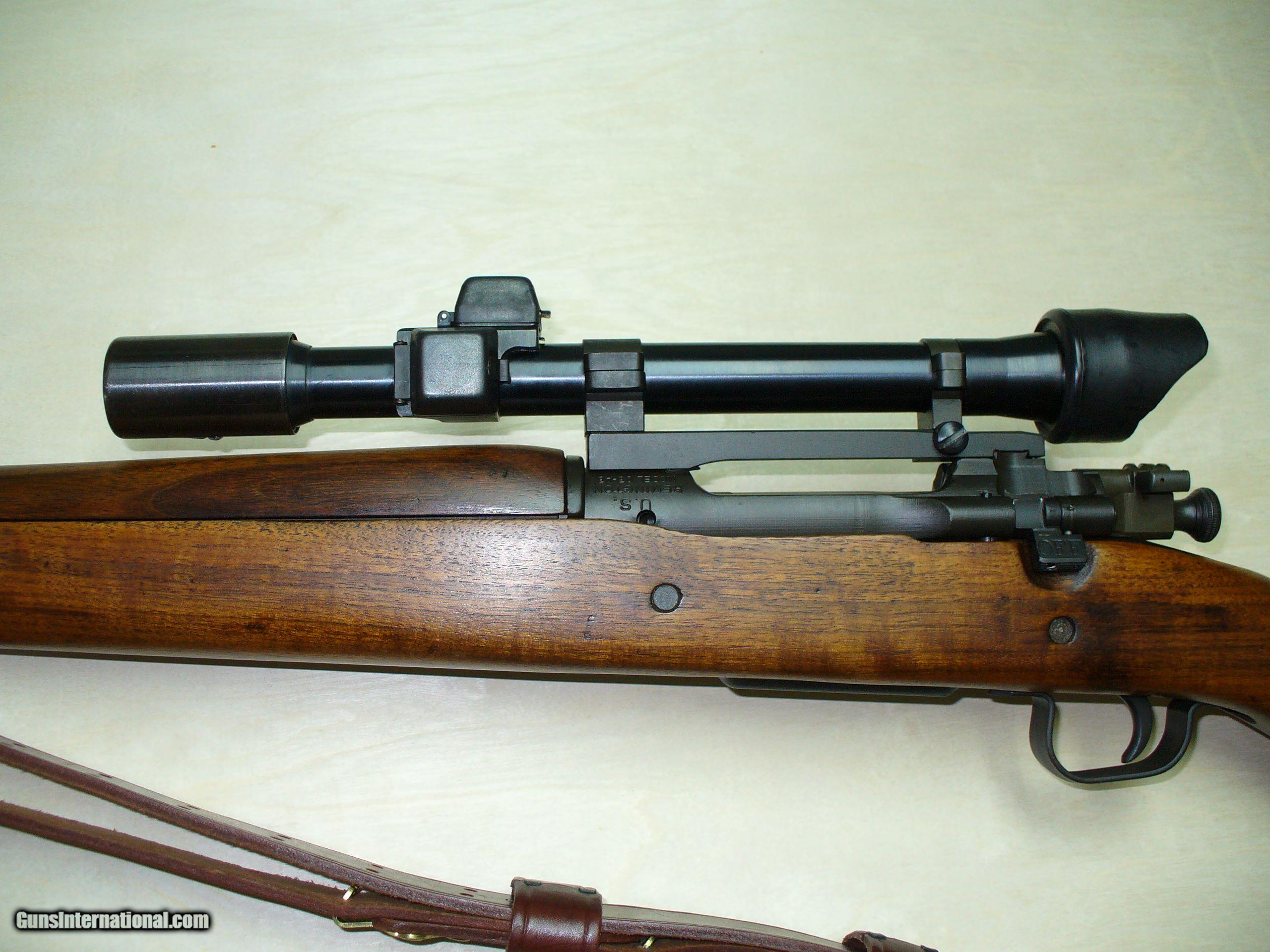 Remington Military Rifles >> Remington, 1903-A4 ORIGINAL WWII SNIPER RIFLE EQUIPPED WITH RARE M84 SCOPE