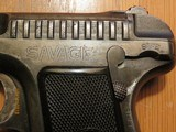 Savage Model 1907 French Military Contract