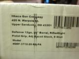 Ithaca model 37 Defense Tactical 12 ga. 8 shot adjustable stock 20