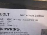 Browning A Bolt Shotgun 12ga. Stalker Rifled barrel NIB - 6 of 6