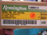 Remington model 700 SPS Tactical .308 cal (with trigger recall finished) NIB - 4 of 5