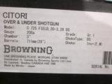 Browning Citori 725 Field 20ga. 28