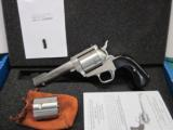 "Freedom Arms Model 83 Premier DUAL cylinder Round Butt 454casull/.45acp 4 3/4""NIB - 1 of 5"