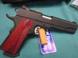 Ed Brown Execitive Elite .45ACP. Stainless with Gen 3 coating NEW