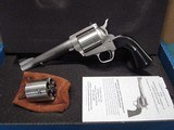 "Freedom Arms Model 83 Premier Dual Cylinder .454 Casull/.45LC. 6"" New in box"