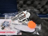 Colt Cobra stainless revolver New in box.38Special +P