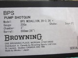 "Browning BPS Medallion Grade 20ga. 26"" Vent New in box - 9 of 9"