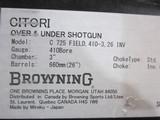 "Browning Citori 725 .410ga. 26"" New in box - 7 of 7"
