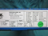 "Freedom Arms Model 83 Premier .475 Linebaugh 7 1/2"" New in box - 5 of 5"