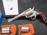 "Freedom Arms Model 83 Premier Triple Cylinder .454Casull/.45LC/.45ACP 6"" New in box"