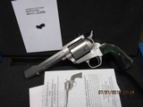 "Freedom Arms Model 83 Premier .475 Linebaugh Custom Octagon 5 1/4"" Evergreen grips New in box"