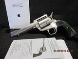 "Freedom Arms Model 83 Premier.475 Linebaugh Custom 5 1/4"" Round butt Evergreen New in box"