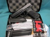 "Heckler & Koch HK45 -V1 ""LE"" Model with night sights and 3 Mags"
