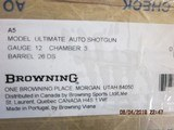 "Browning A5 ULTIMATE 12ga. 26"" New in box - 11 of 11"